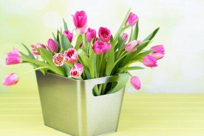 Bild Tulpenstrauß in der vase