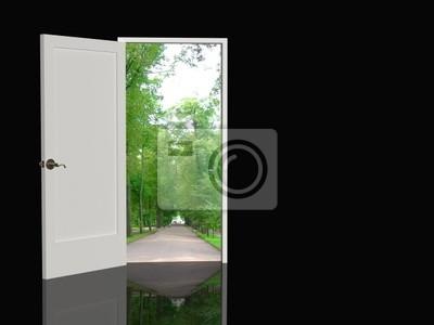 Tür in der realen Welt zu öffnen