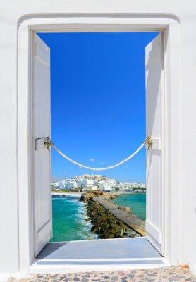 Bild Tür in Schönheit von Griechenland - Naxos