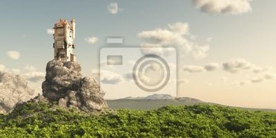 Turm auf der Mauren