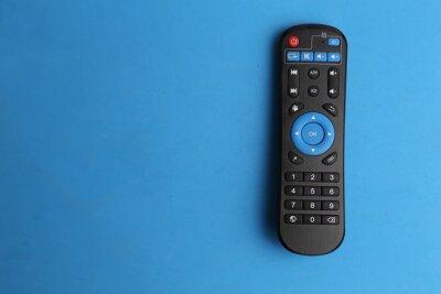 Bild TV remote control in color background