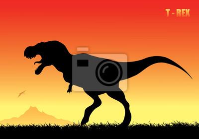 Tyrannosaurus rex Hintergrund