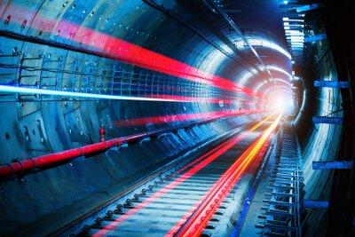 Bild U-Bahn-Tunnel