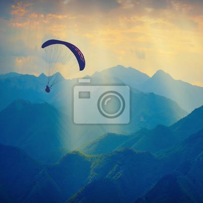 Über die Berggipfel