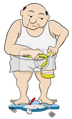 Bauchumfang mann Körperfettanteil mit