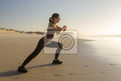 Übung am Strand