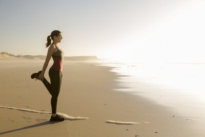 Bild Übung am Strand