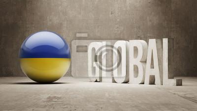 Ukraine. Globales Konzept.