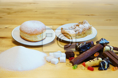 Ungesunde Ernahrung Diabetes Kuchen Sussigkeiten Zucker