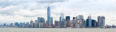 Bild Unteres Manhatta NYC Panorama