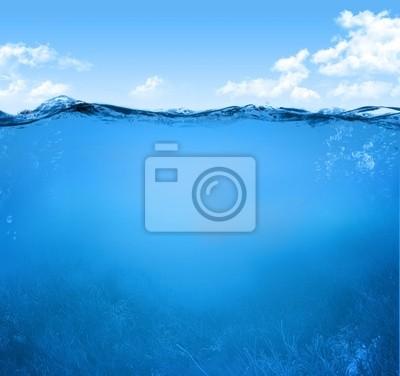 Unterwasser-Szene