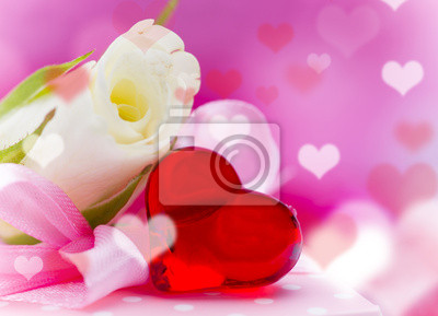 Bild Valentin day background