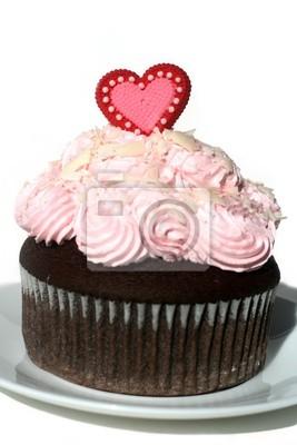Valentinstag Kuchen Leinwandbilder Bilder Cupcake St Anlass