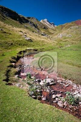 Vallée d'Aspe, ruisseau, Pyrenäen