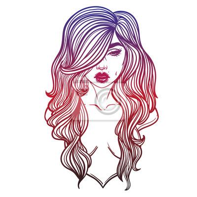 Madchen Bilder Gezeichnet Mit Farbe Reverselookups
