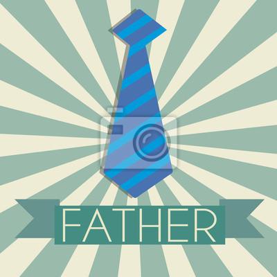 Vaters Krawatte