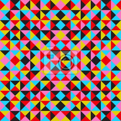 Vector abstrakten geometrischen Hintergrund, bunt