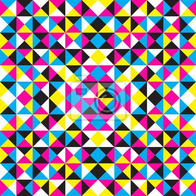 Vector abstrakten geometrischen Hintergrund cmyk