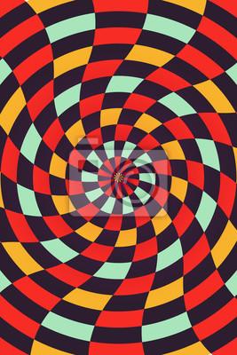 Vector abstrakten Schach Hintergrund