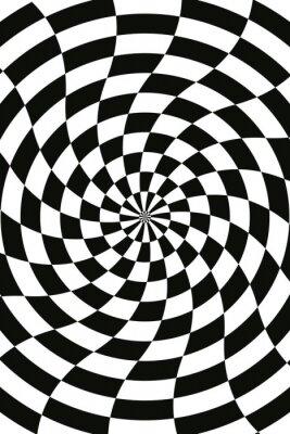 Vector abstrakten Schach Schwarz-Weiß-Hintergrund