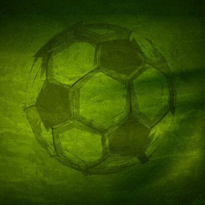 Vector Aquarell-Fußball, einfach alle editierbaren