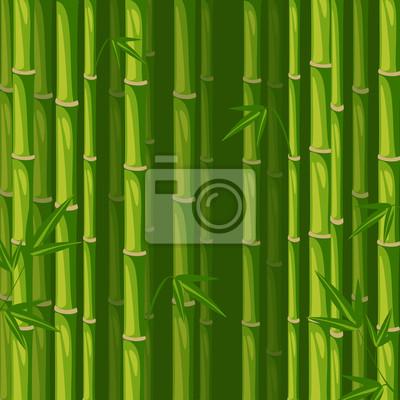 Vector Bambus Hintergrund grün