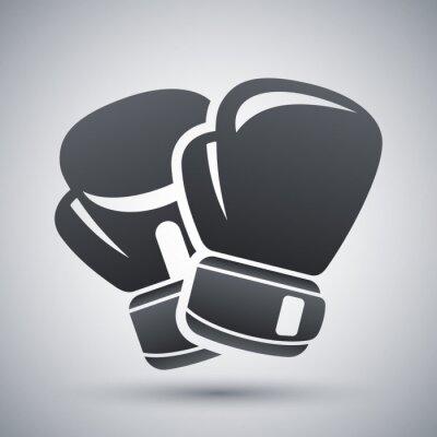 Bild Vector boxing gloves icon