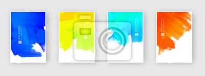 Bild Vector design elements template for business brochure.