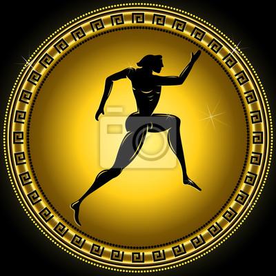 Vector gold Gradienten Olympic sportlich Illustration