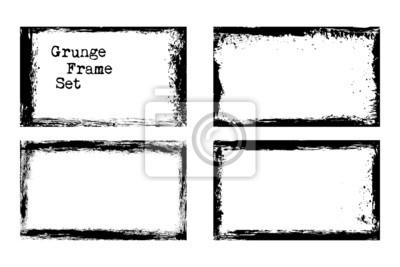 Bild Vector Grunge Rahmen Vorlagen