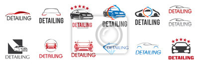 Bild Vector logo for detailing car and tuning