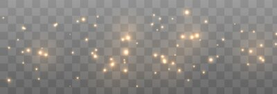 Bild Vector magic glow. Sparkling light, sparkle dust png. Sparkling magical dust. Christmas light.