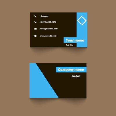 Vector Moderne Kreative Und Saubere Visitenkarte Vorlage