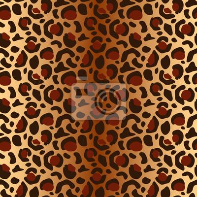 Vector nahtlose Leopardenmuster