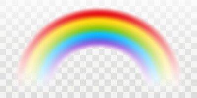 Bild Vector rainbow with transparent effect