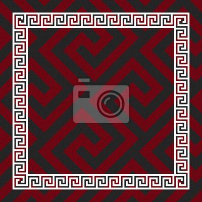 Bild vector seamless Greek ornament, Meander