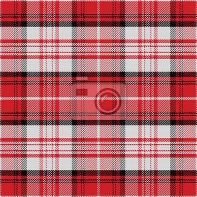 Bild vector seamless red pattern Scottish tartan