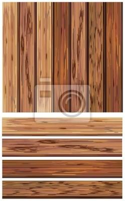 Bild Vector von Holzelementen