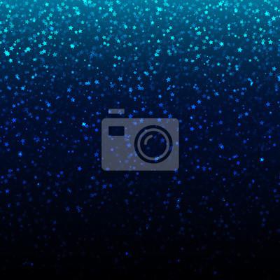 Bild Vector Weihnachten Hintergrund mit gold falling stars.