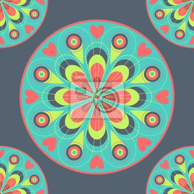 Vektor abstrakte nahtlose Hintergrund
