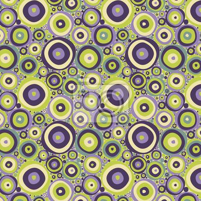 Vektor abstrakte nahtlose Muster mit Kreisen
