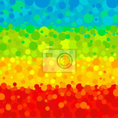 Vektor abstrakten Hintergrund mit Kreisen