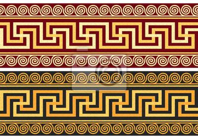 Bild Vektor-Fries mit griechischen Ornament (Meander)