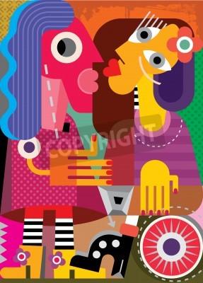 Bild Vektor-Illustration.