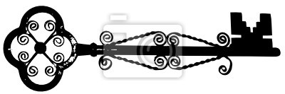 Bild Vektor-Illustration der Taste