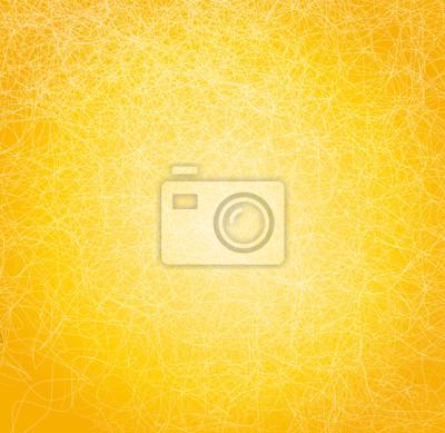 Vektor-Illustration mit gelben abstrakten Hintergrund.