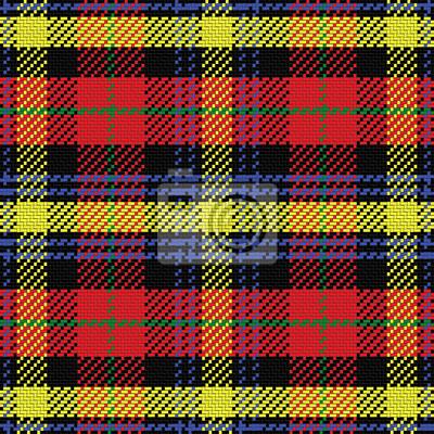Bild Vektor nahtlose Muster schottischen Tartan