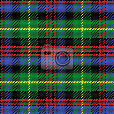 Bild Vektor nahtlose Muster schottischen Tartan Black Watch