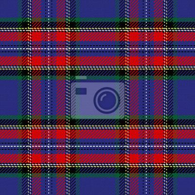 Bild Vektor nahtlose Muster schottischen Tartan Stewart