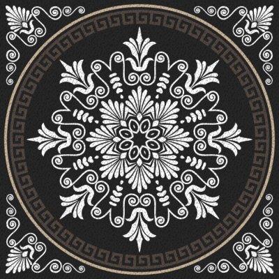 Bild Vektor nahtlose vintage weißen griechischen Ornament (Meander)